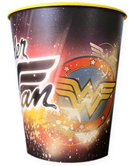 Wonder Woman Keepsake Favor Stadium Cup 1 Ct
