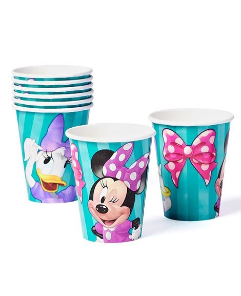 Minnie Mouse and Daisy Duck 9 oz Paper Cups 8 Ct