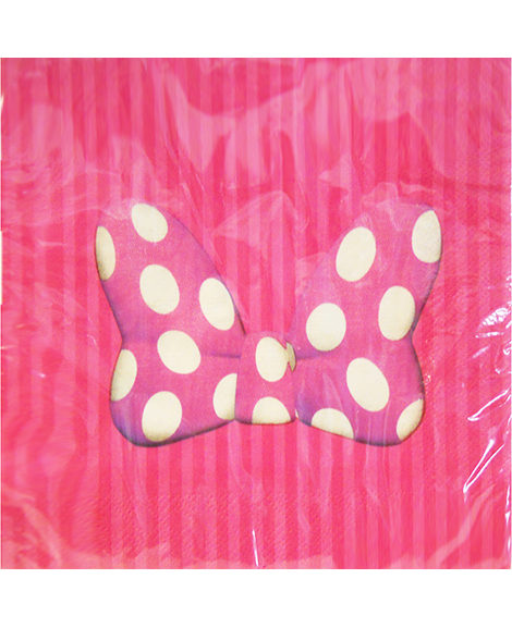 Minnie Mouse Classic Lunch Napkins 16 Ct