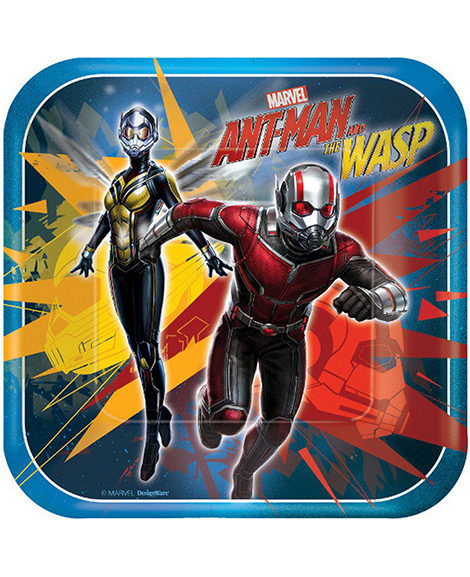 Ant Man and The Wasp Dessert Plates 8 Ct