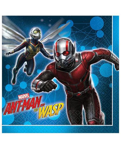 Ant Man and The Wasp Lunch Napkins 16 Ct
