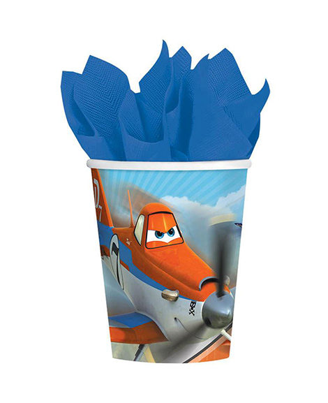 Planes Dusty and Friends 9 oz Paper Cups 8 Ct