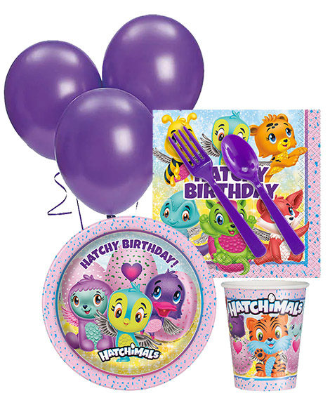 Hatchimals Birthday Party Package for 8 Guests