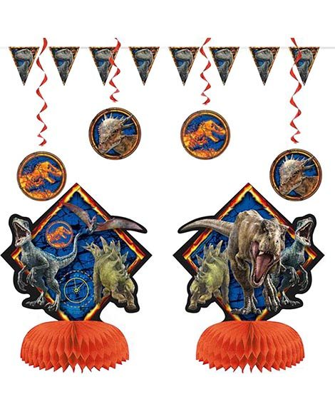 Jurassic World 7 Piece Decorating Kit