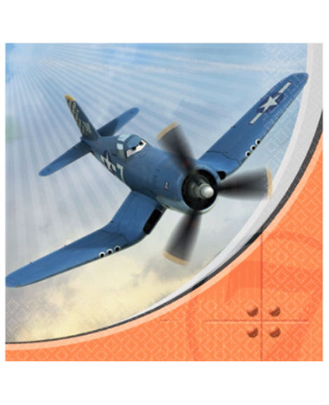 Planes Dusty and Friends Lunch Napkins 16 Ct
