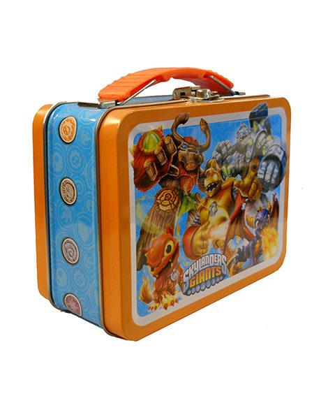Skylanders Carry All Metal Tin Box with Handle