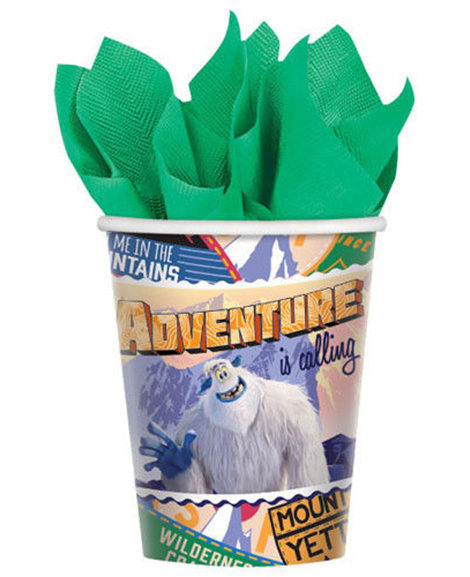 Smallfoot 9 oz Paper Cups 8 Ct