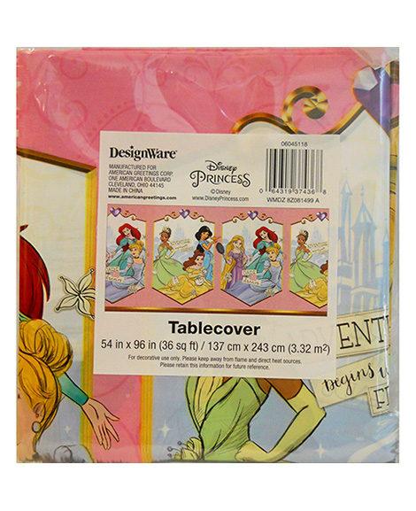Disney Princess Sketchbook Table Cover
